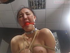 SM asian mature blowjob and cum in mouth