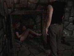 Vintage slave used master tit and pussy torture KOLI
