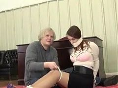 Pretty Bondage Model Getting Tied Up